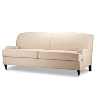 Seriena Leisure Linen Sofa (three seaters) on Coasters, modern couch, Solid Beige Sofa, Solid Beige Linen Sofa