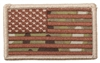 US Flag Multicam Embroidered Patch