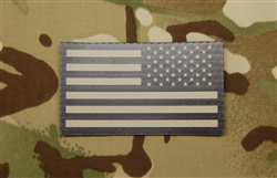 US Flag, IR Reflective, Reverse