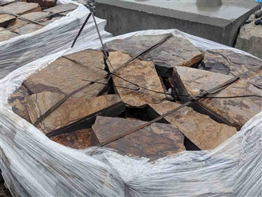 "Three Rivers Flagstone Patio 2-1/2"" Ton Price"