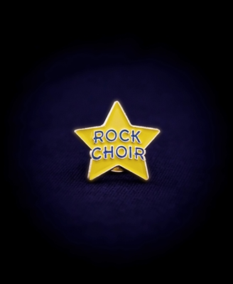 Rock Choir Pin Badge
