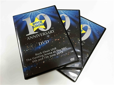 Rock Choir 10 DVD