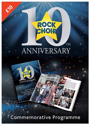 Rock Choir 10 | Commemorative Programme