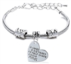 big heart to shape little minds bracelet