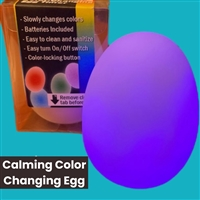 Self Color Changing Egg: Silent Self-regulating Tool for Kids