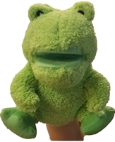 Musical Frog Hand Puppet
