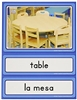 Teaching Tools-Spanish-English Language Classroom Labels