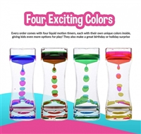 Liquid Bubbler Timer | Relaxing Self-regulation Tool for Kids