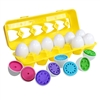 Counting Eggs | Help preschoolers learn to count, sort, and match