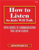 How to Listen So Kids Will Talk<BR> 5 Clock Hours