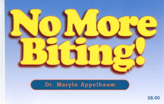 Clock Hour Books: No More Biting – 3 CDA Clock Hours
