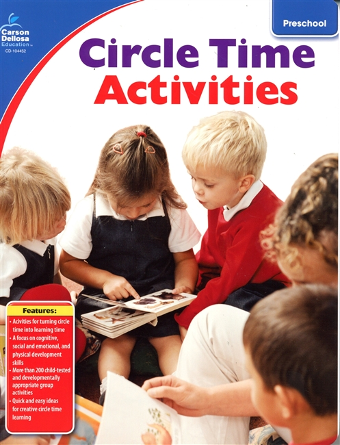 Circle Time Activities: Social & Emotional Development for Kids-Earn 6 Clock Hours in most States