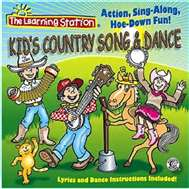 Kids Country Song & Dance Music CD | The Learning Station