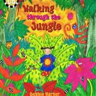 Walking through the Jungle Children's Book with Music CD