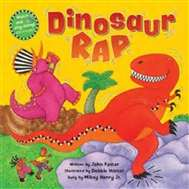 Dinosaur Rap | Music Book & CD for Childhood Development