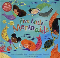 Five Little Mermaids | Music Book & CD for Childhood Development