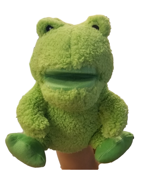 Musical Frog Hand Puppet for Teachers