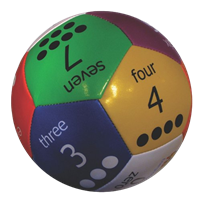 Thumball | Multi-colored Ball for Counting & Learning Numbers