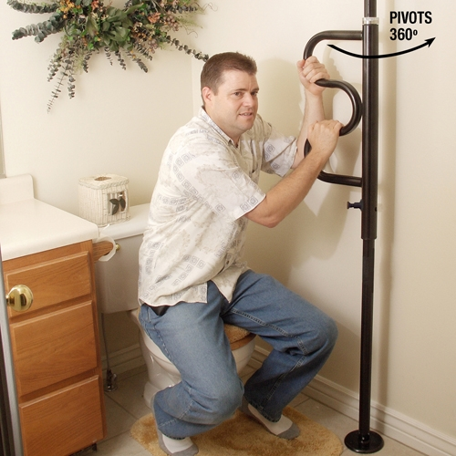 Alternative Views Stander Security Pole Curve Grab Bar