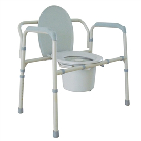 Drive 11117N-1 Bariatric Folding Commode