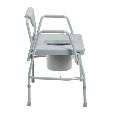 Drive 11135 1 Deluxe Bariatric Drop Arm Commode