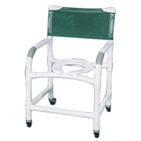 MJM Wide Deluxe PVC Shower Chair 122-3