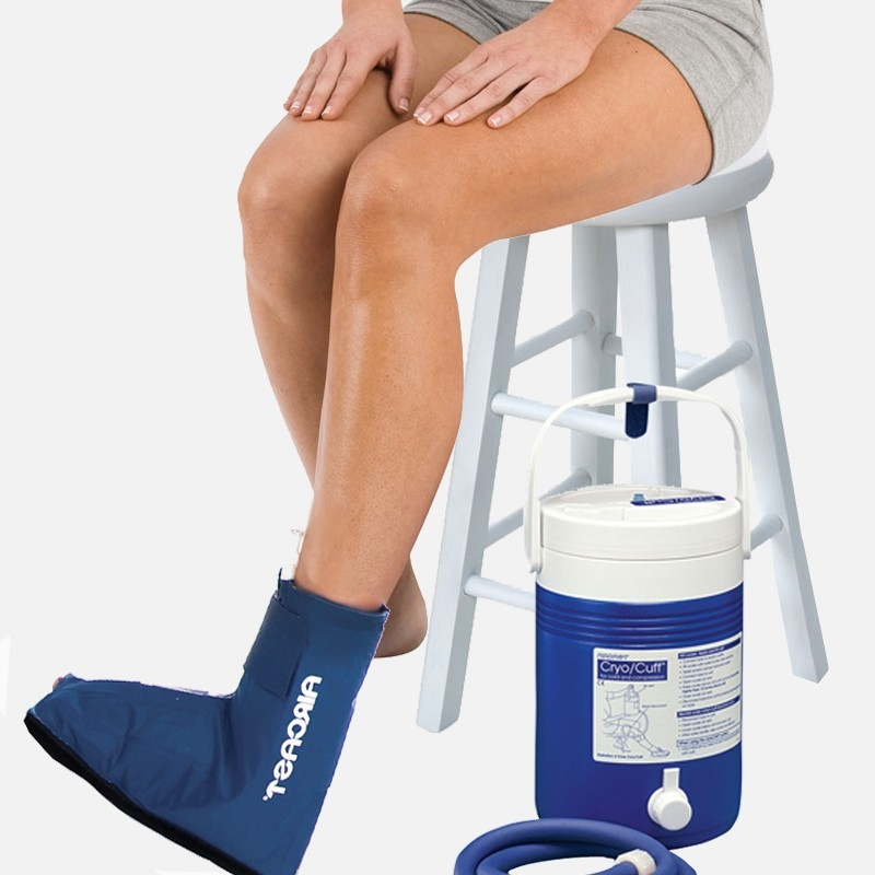 Aircast Ankle Cryocuff Wcooler
