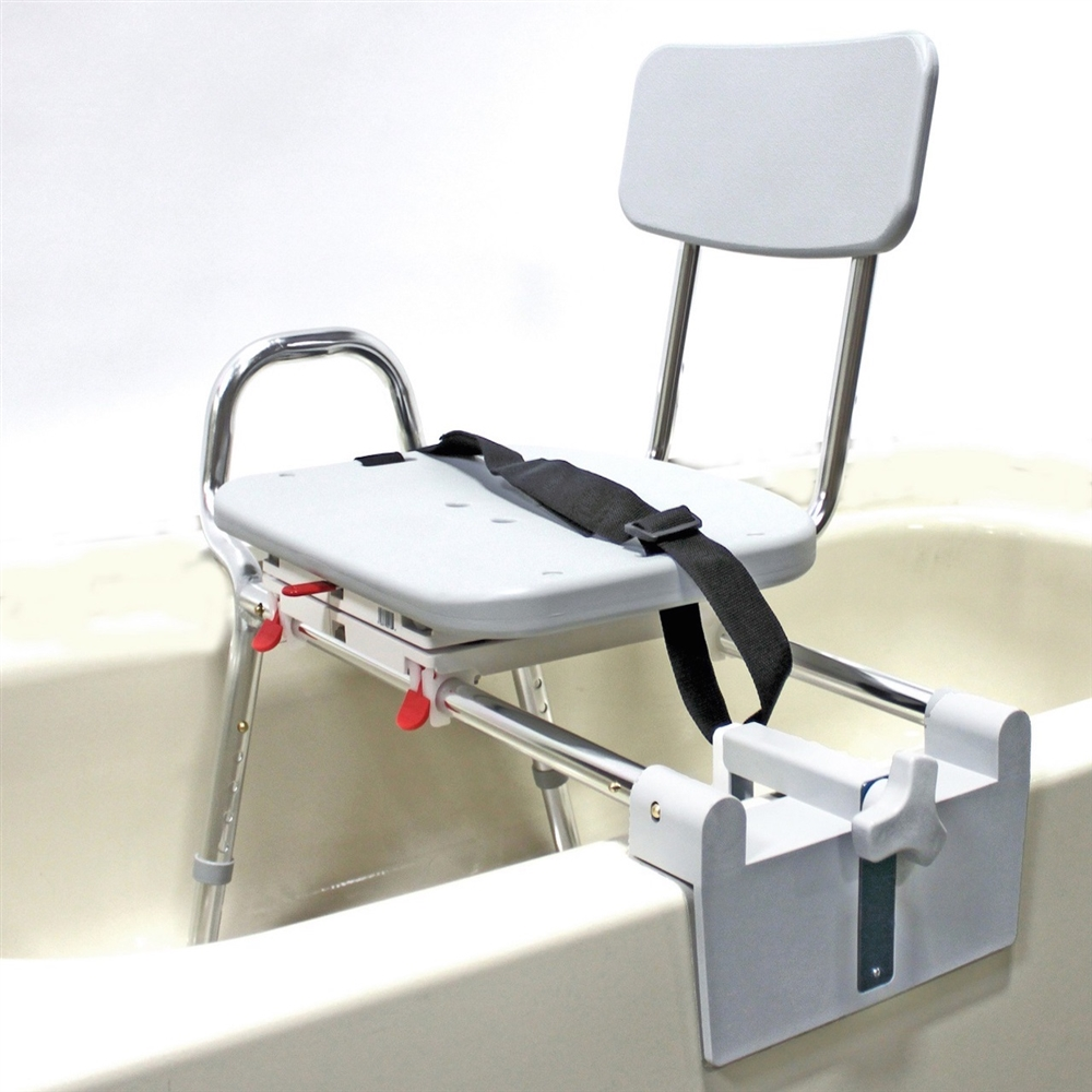 Eagle Health 77762 Tub Mount Sliding Swivel Transfer Bench