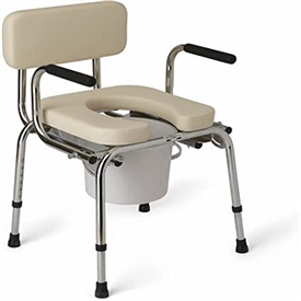Medline Guardian Drop Arm Commode - G98202