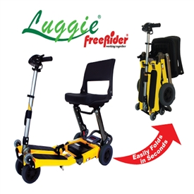 Luggie Folding Travel Scooter