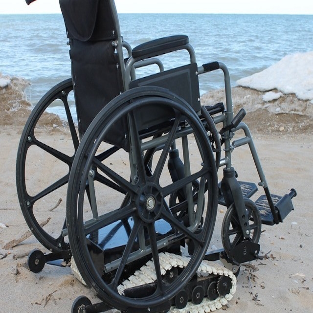 Freedom Tracker Wheelchair Lift : Freedom trax powered track device for manual wheelchairs