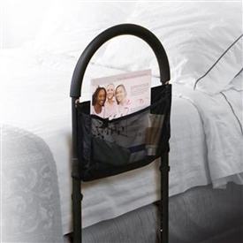 Medline Bed Assist Bar with Storage Pocket