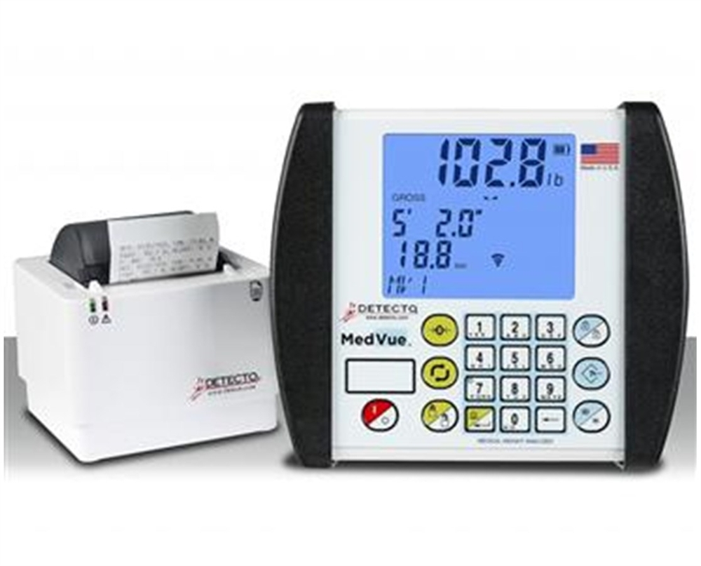 detecto mv1 medvue medical weight analyzer - Detecto Scales