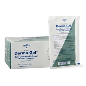 Medline Derma-Gel Hydrogel Sheets