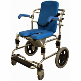 Provider Baltic Transporter Shower Commode Chair