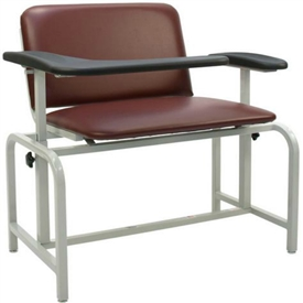 Winco 2575XL Padded Blood Drawing Chair