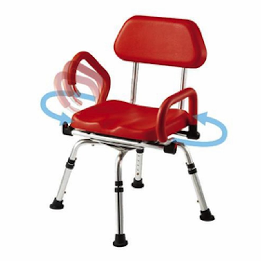Provider Revolver Swiveling Shower Seat  sc 1 st  Medical Department Store & Provider Deluxe Bathtub Swivel Shower Chair