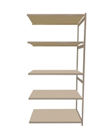 "18""D x 48""W x 74""H c/w 5 Shelf levels - Add-On Unit"