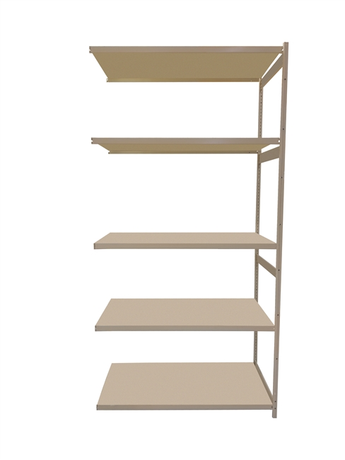 "18""D x 48""W x 86""H c/w 5 Shelf levels - Add-On Unit"
