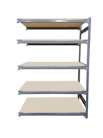 "18""D x 48""W x 72""H c/w 5 Shelf levels - Add-On Unit"