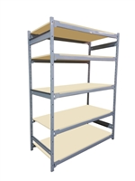 "18""D x 48""W x 84""H c/w 5 Shelf levels - Main Unit"