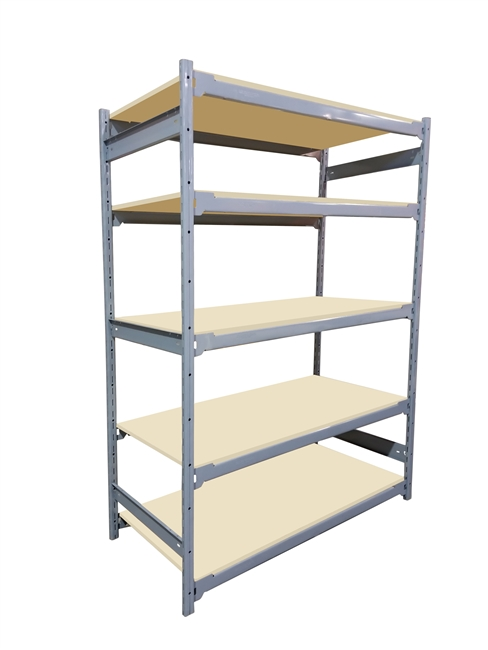 "18""D x 36""W x 84""H c/w 5 Shelf levels - Main Unit"