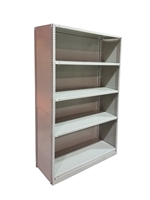"Closed Kwikerect Shelving - 18""D x 75""H c/w 5 Steel Shelves"