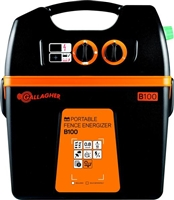Portable Battery Fence Energizer B100
