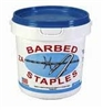 "Staple Barbed Glv. 2"" 8 GA (8# BUCKET)"
