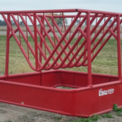 Bale Feeder Horse - Basket