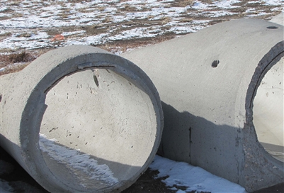 "Culvert Concrete Ends 24""/18"""