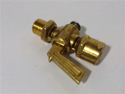 Float Brass Bleeder Valve screw w/spring No elbow