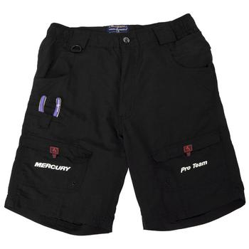 Hook & Tackle Nylon Fishing Shorts - Black - NO MotorGuide
