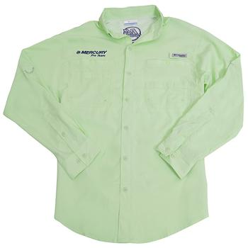 Columbia L/S Tamiami II - Key West Green